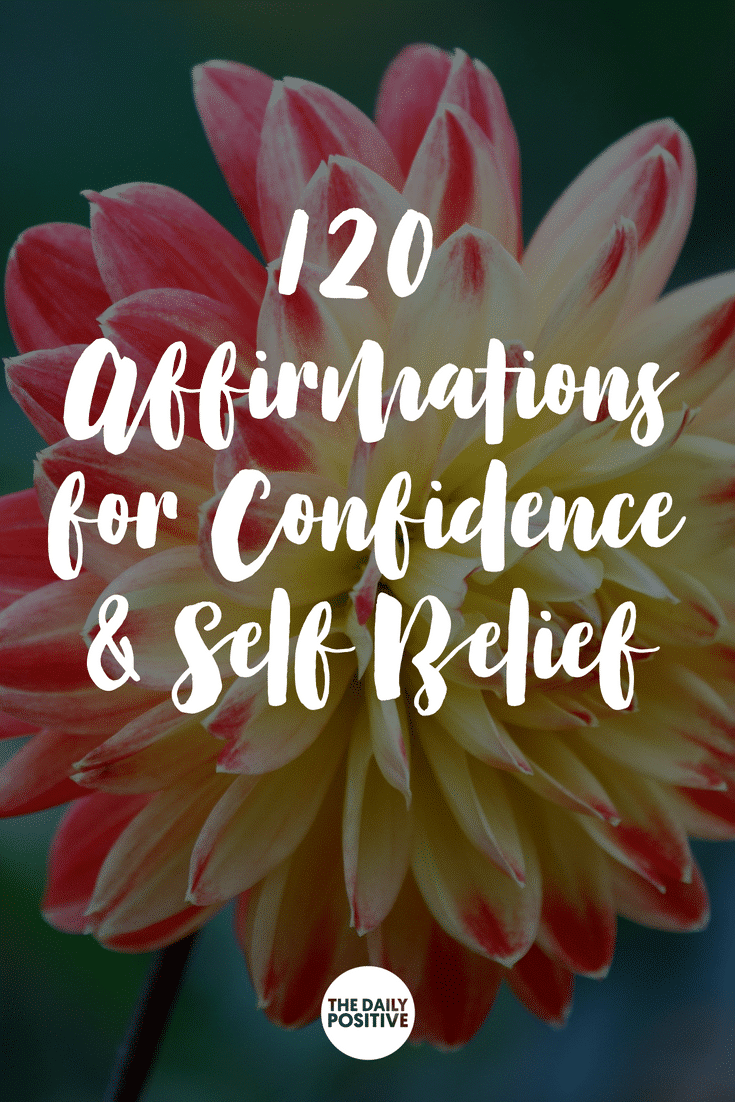 Free Affirmations Audio 120 Affirmations for Confidence & Self Belief. #thedailypositive #confidence #affirmations