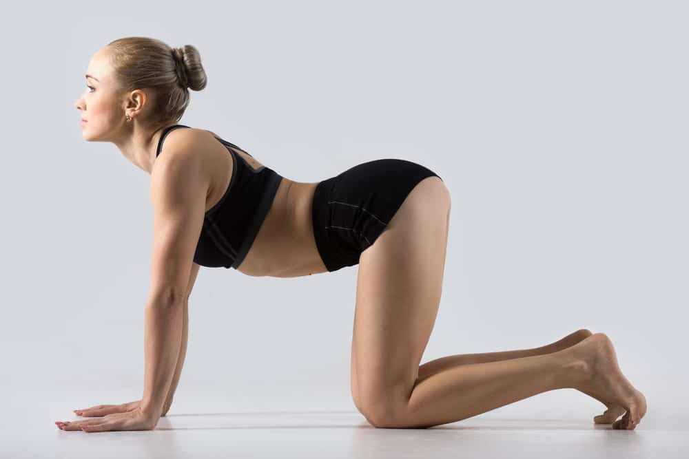 yoga pose for anxiety