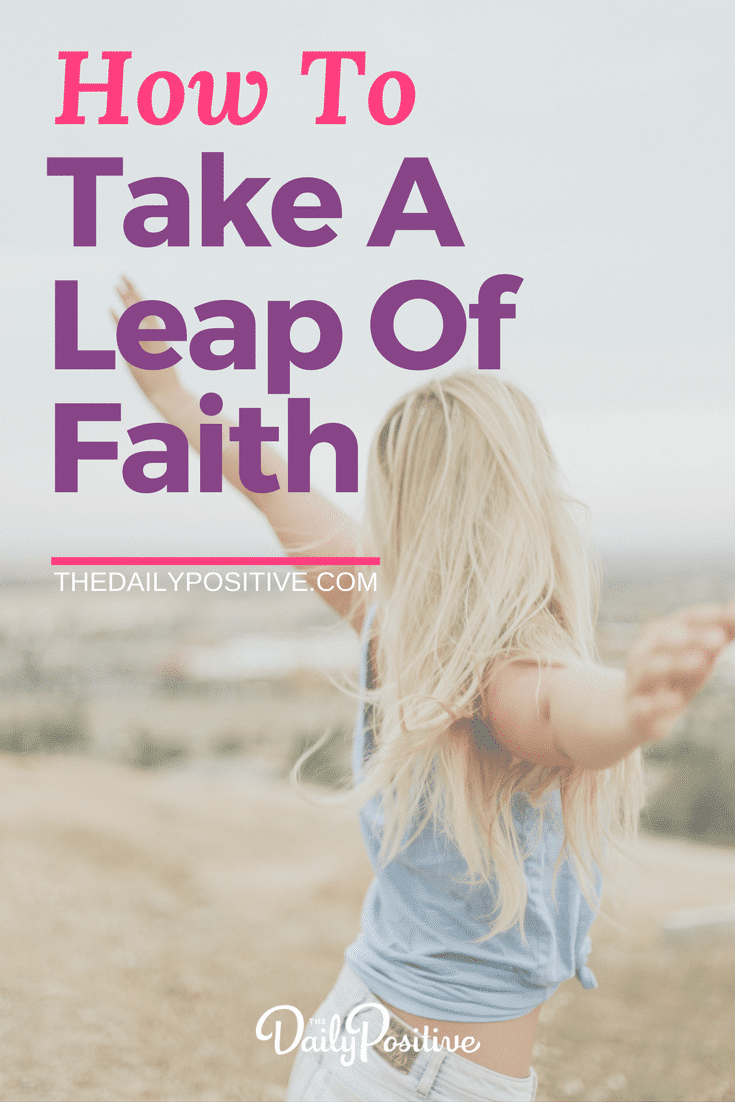 Time to take a leap of faith? Sometimes you don't have certainty. All you have is a KNOWING. You've prepared as much as you can. And it's time to take a leap of faith. Here are a few different perspectives to help you move forward with confidence, I know they made a big difference for me in my life. #leapoffaith #confidence #personalgrowth #thedailypositive #selfhelp #personaldevelopment #motivation #inspiration #wisdom #success #goals