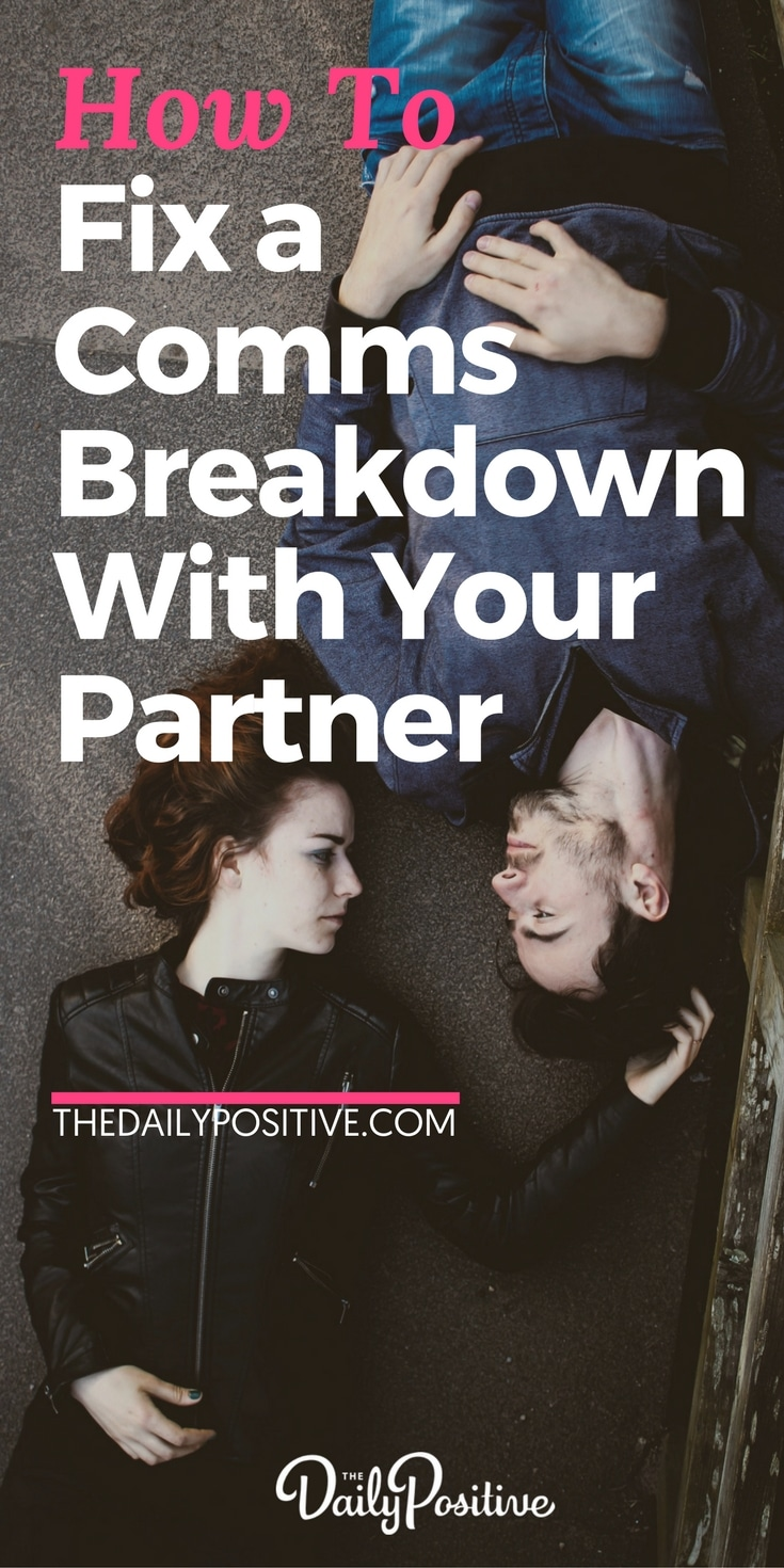 communication breakdown in relationships and dating