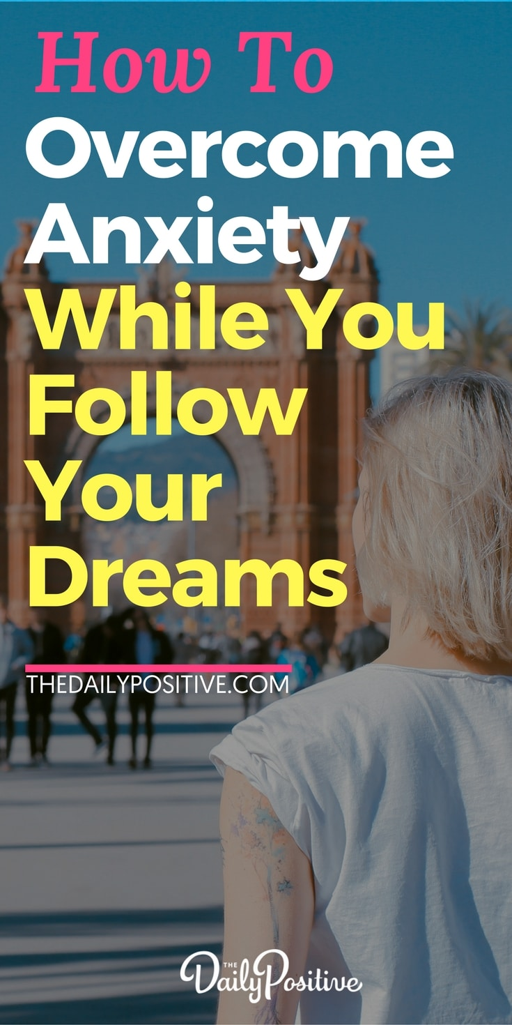 This is a story of an inspiring woman who followed her dreams and overcame anxiety in the process. It's living proof that having anxiety doesn't have to stop you living your dream, and in fact, that making your dream happen can actually be part of what helps you triumph over anxiety. #dreams #goals #anxiety #fear #success #personalgrowth #selfhelp #selfconfidence #confidence