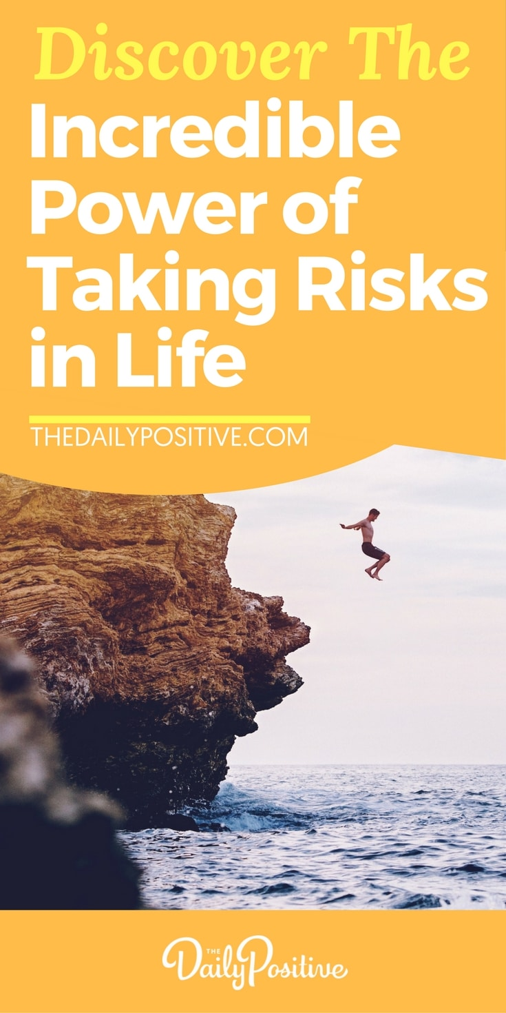 Here's the low down on how you can be taking risks in life in order to create positive change, and 4 obvious benefits of doing so. And there's no better time to start than right now! #lifelife #psychology #risk #fear #personalgrowth #selfhelp #selfimprovement