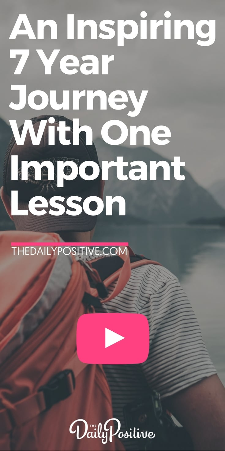 This video is so inspiring. A man's experience of 7 years traveling the world, living an inspired life and ensuring to avoid the greatest risk of all... the risk of NOT living fully. #travel #experience #lifelessons #goodadvice #livelife #inspiration #motivation #personalgrowth