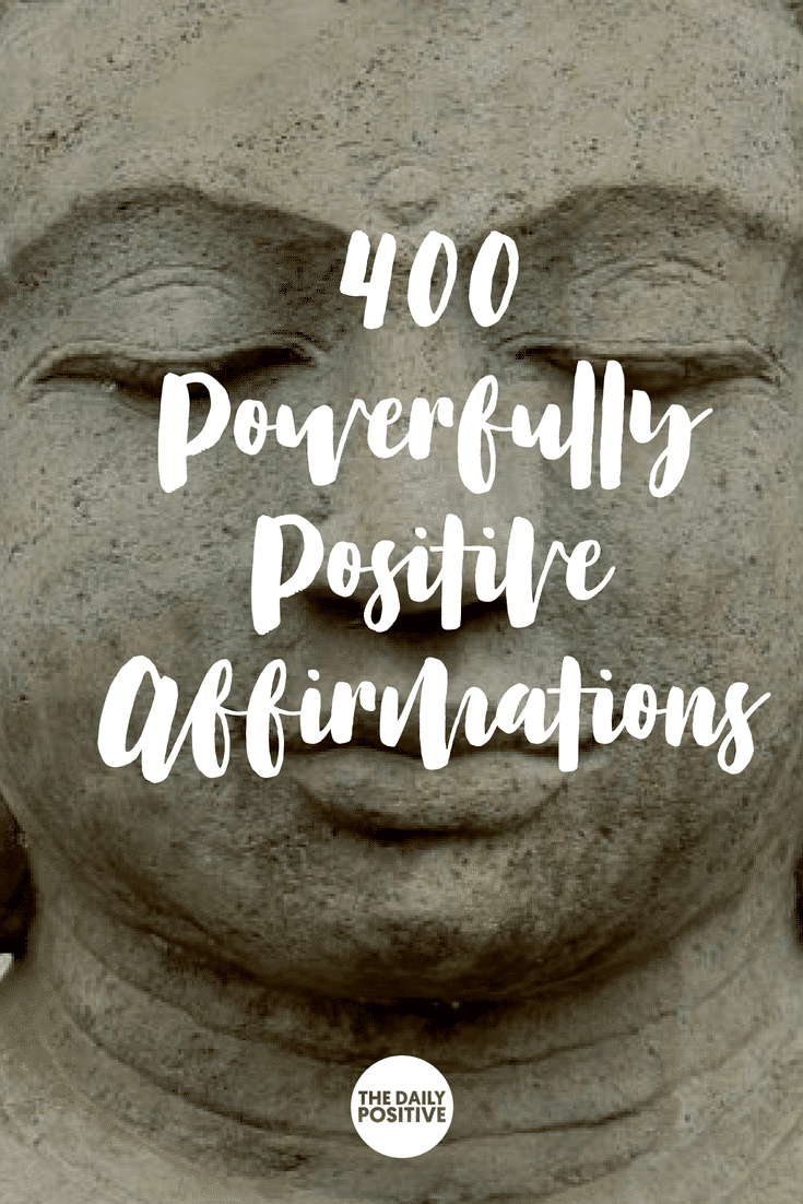 400 Positive Affirmations FREE Audio #thedailypositive #affirmations #positivity
