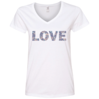 Love Quote V-Neck T-Shirt