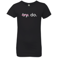 Girl's Motivational T-Shirt