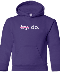 Girls Motivational Hoodie