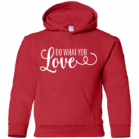 Do What Your Love Kids Hoodie