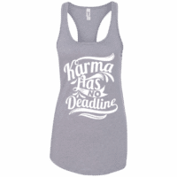 Karma Quote Womens Tank