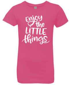 Girls Positive Quote Tee