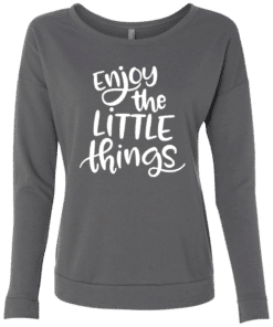 Womens Long Sleeve Quote Tee