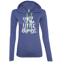 Enjoy The Little Things Womens Hoodie