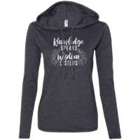 Knowledge Wisdom Womens Hoodie