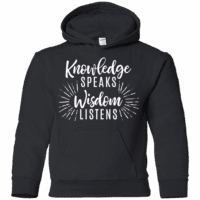 Kids Quote Hoodie
