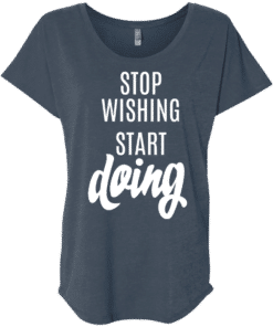 Start Doing Womens Slouchy T-Shirt