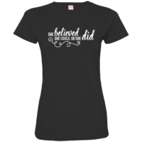 Motivation Quote Womens T-Shirt