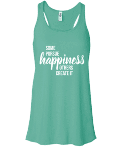 Happiness Quote Womens Tank