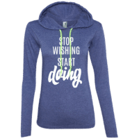 Motivation Quote Womens Hoodie