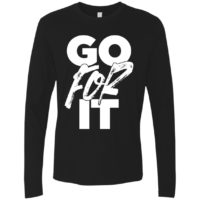 Go For It Mens Long Sleeve Tee