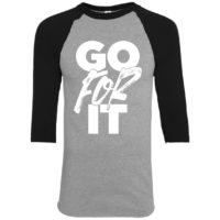 Go For It Boys Raglan Tee
